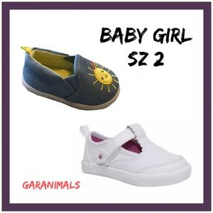 Garanimals Infant Shoe 2Pc Set Sz:2 Z3 NWT